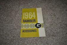 1964 Rambler Classic Ambassador American accessories booklet