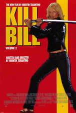Kill Bill, Vol 2 Movie POSTER 27 x 40, Uma Thurman, C, LICENSED U.S.A. NEW