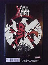 Uncanny X-men #25 - Agents of S.H.I.E.L.D. Variant Cover - Vf+/Nm