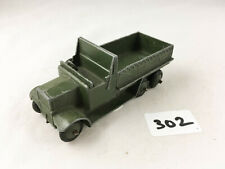 VINTAGE DINKY TOYS # 151B SIX WHEELED COVERED WAGON TRUCK ARMY MILITARY