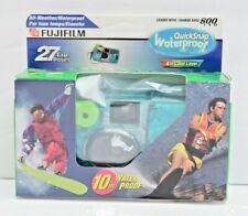 FujiFilm Quicksnap Expired in 2005! Waterproof Disposable Camera 27 Exposures