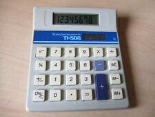 Rare Vintage Texas Instruments TI-508 TI508 Solar Calculator