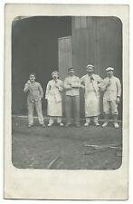 1. Weltkrieg Feldbäckerei-Kolonne Foto-AK entsprechende Stempel 1917 Feldpost