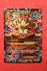 Pokemon XY Fates Collide: Mega M Alakazam EX 118/124 Full Art Ultra Rare - LP/NM