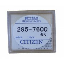 Capacitor for Citizen Eco-Drive Watch 295-76 MT516F 295.76 Genuine Part 295-7600