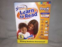 New Factory Sealed Hooked on Phonics Learn to Read Pre-K Edition Boxed Set