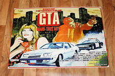 1st Grand Theft Auto 1 GTA / Gex Rare Vintage Poster 58x82cm Playstation 1 Ps1