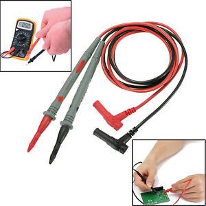 New Best Quality 10A Digital Multimeter Test Leads Probes Volt Meter Cable UK
