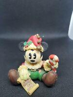 Enesco Mickey as Rag Doll Santa Figurine #279781