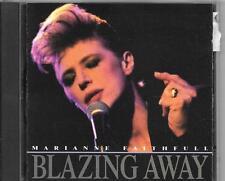 CD ALBUM 10 TITRES--MARIANNE FAITHFULL--BLAZING AWAY--1990