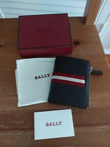 Bally Compact Wallet Brown Vintage AS NEW