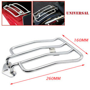 Motorcycle Solo Seat Rear Fender Luggage Rack for Honda Yamaha Suzuki Universal