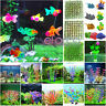 Aquarium Artifical Plastic Grass Fish Tank Decorations Ornament Water Plant C