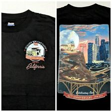 In-N-Out Burger 65th Anniversary California T-Shirt Hanes Black Small Medium Fit