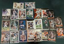 Peyton Manning 25 card lot, Base, Inserts, Colts Broncos HOF quarterback