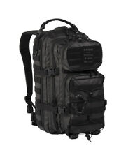 US Assault Pack Small Rucksack Backpack Daypack Military Outdoor Tactical Black