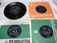 """Lote de 4 Vintage The Beatles Day Tripper, ayuda, Cant Buy Me lo Etc Vinilo Singles 7"""""""