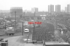 PHOTO  WALSALL LOOKING SOUTH-WEST FROM THE SADDLERS CENTRE CAR PARK ON 25/11/80.