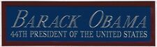BARACK OBAMA USA 44TH PRESIDENT NAMEPLATE FOR YOUR AUTOGRAPHED SIGNED BOOK-PHOTO