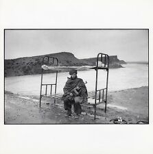 Postcard Hekmalyar Fighter Guarding Access to Kabul, Afghanistan Magnum Phaidon