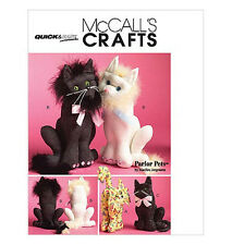 Sew & Make McCall's M5349 SEWING PATTERN - Stuffed Cats SIAMESE PERSIAN CALICO