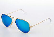 ray ban sonnenbrille spiegelglas blau