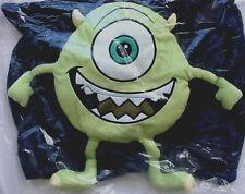 Monsters University Mike Wazowski Plush Pillow case Brand New SEALED U inc.3d