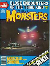 Famous Monsters #141 March 1978 Godzilla VG