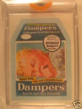 1973 Topps Wacky Packages Series 4 Proof Card Dampers