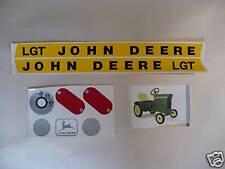 DECAL SET John Deere LGT Lawn & Garden Pedal Tractor Computer Cut   JP401