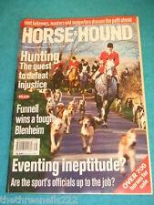 HORSE & HOUND - EVENTING INEPTITUDE - SEPT 16 2004