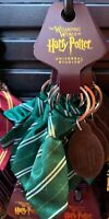 Universal Studios Harry Potter Slytherin Fabric Tie Keychain New with Tags