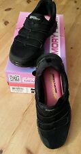 SKECHERS SPORT MEMORY FOAM Synergy LOVING LIFE Gr. 36 (UK3) schwarz black w neu