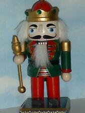 Christmas Mini King Nutcracker With Green Jacket 7-1/2�