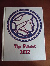 2012 Sullivan East High School Yearbook Bluff City, TN ~ The Patriot Tennessee A