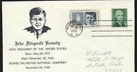 1246 John F Kennedy 1970 Birthday Cover unaddressed Scarce Cachet  LOT 1035