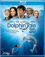 DOLPHIN TALE MORGAN FREEMAN KRIS KRISTOFFERSON NEW BLU RAY 3D