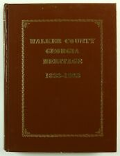 Walker County, Georgia LaFayette Rossville Chickamauga GA Family History Book