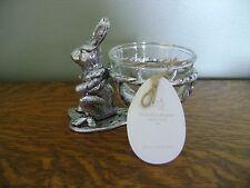 Pottery Barn Farmer Bunny Snack Bowl SET/4 ~ NEW IN BOX, FREE SHIPPING!!