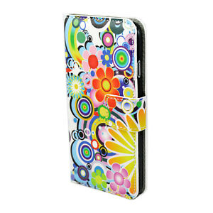 Magnetic Pattern PU Leather Flip Wallet Case Cover For iPhone 5S 6 Samsung S5 S4