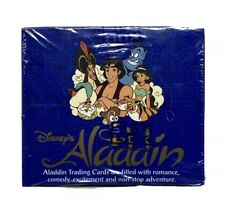 Factory Sealed Box Disney Aladdin Trading Cards Skybox