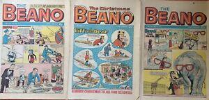 3 Vintage Beano Comics , 1st Mayl-0th July-25 Th Decem1970 - 51st Birthday #4
