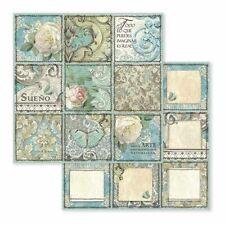 Stamperia Paper Sheet Azulejo Sueno 12 x 12