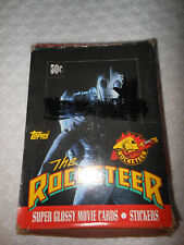 "TOPPS ""THE ROCKETEER"" BOXES OF SUPER GLOSSY MOVIE CARDS AND STICKERS!"