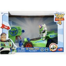 Disney Pixar Toy Story 4 - RC Turbo Buggy Buzz Lightyear Remote Controlled Car