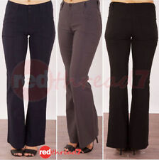 Cotton Regular Size Stretch Pants for Women