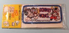 Original 1982 Nintendo Donkey Kong Patch Unused Still Sealed Rare