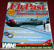 Flypast 2003 September North Weald,La-9,Meteor,Boomerang,B-25,Mosquito