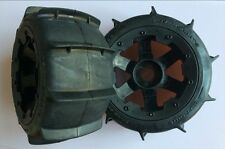 HPI Baja 5T 5B 5SC Losi Sand Paddle Tire Wheels fits ROAVN King Motor Baja