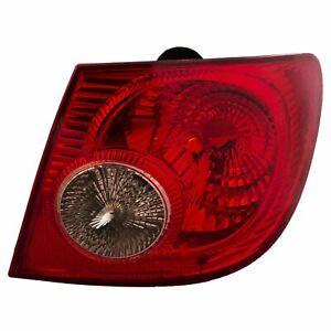 2005-2008 TOYOTA COROLLA RIGHT PASSENGER SIDE TAIL LIGHT STOP BRAKE LAMP A63
